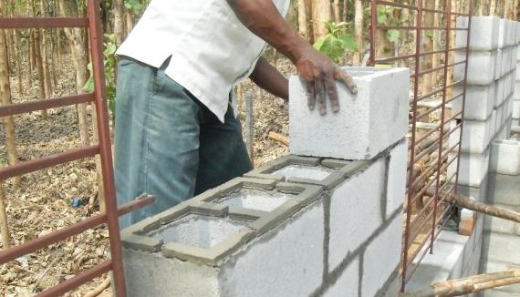 Technology Block Masonry Design To Site Concept